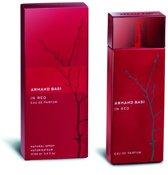 MULTI BUNDEL 4 stuks Armand Basi In Red Eau De Perfume Spray 100ml