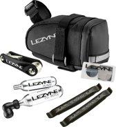 Lezyne M Caddy CO2 Kit Zadeltasje + Bandenreparatieset - Zwart