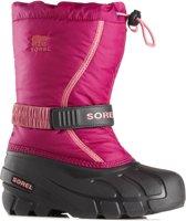 Sorel Snowboots - Maat 33 - Unisex - roze/zwart