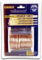 Velleman K/LOW2150/10T audio kabel 10 m Transparant