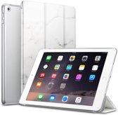 iCall - Apple iPad Mini (2019) / Mini 4 Hoes - Book Cover Tri-Fold Case - Marmer
