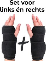 AVE® Premium - Polsbrace set – rechts + links – brace – Carpaal tunnel syndroom – RSI – Artritis – Universeel – Pols ondersteuning – versteviging