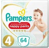 Pampers Premium Protection Pants - Maat 4  - 64 Stuks - Luierbroekjes