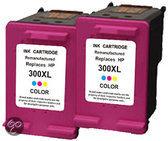 HP 300 XL inktcartridge CC644EE kleur 21 ml 2 stuks Cartridge