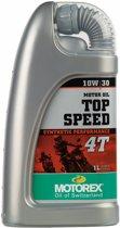 Motorex Top Speed 4T 10W/30-1 Liter