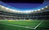Voetbalstadion - Behang - 312X219CM