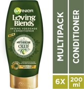 Garnier Loving Blends Olijf Conditioner - 6 x 200 ml - Voordeelverpakking