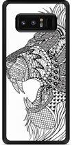 Galaxy Note 8 Hardcase Hoesje Leeuw Mandala