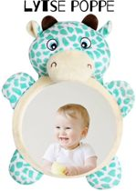 Kids & Baby autospiegel - Verstelbare spiegel - Dieren - Lachspiegel -  Hoofdsteun spiegel