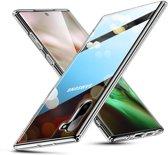 Samsung Galaxy Note 10 - hoesje met Tempered Glass achterkant bescherming - ESR - Ice Shield - Transparant