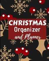 Christmas Organizer and Planner: Flexible easy wipe-clean matte cover perfectly sized 8X10 inches, 100 pages with beautiful layouts with inspirational