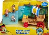 Fisher-Price Jake en de Nooitgedachtland piraten Jakes Zeilwagen