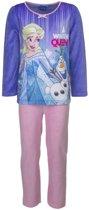 Frozen velours pyjama 104 cm ' extra dik '