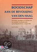 Boodschap Aan De Bevolking Van Den Haag