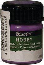 Hobby acrylverf paars 15 ml