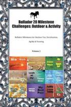 Bullador 20 Milestone Challenges: Outdoor & Activity: Bullador Milestones for Outdoor Fun, Socialization, Agility & Training Volume 1