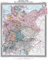 Historische Karte: Deutsches Reich - Deutschland, um 1903 (plano)