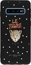 My Jewellery Design Backcover Samsung Galaxy S10 hoesje - Le Tigre