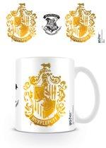 HARRY POTTER - HUFFLEPUFF STENCIL CREST Mugs