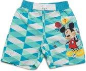 Mickey Mouse Jongens Boardshort - wit;lichtblauw - Maat 116