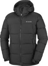 Columbia Pike Lake Hooded Jacket Heren Outdoorjas - Black - L