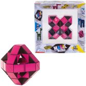 Clown Magic Puzzel 48 stukjes - Roze