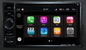 2-din android 7.1 universeel met carkit bluetooth usb aux sd wifi