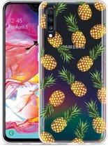Galaxy A70 Hoesje Ananas