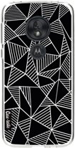 Casetastic Softcover Motorola Moto G7 Play - Abstraction Lines Black