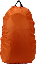 Regenhoes Rugzak - Waterdichte Backpack Hoes - Flightbag 35L | Bescherm uw tas tegen regen! (Oranje)