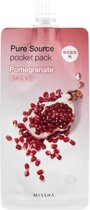 Misscha Pocket Mask - Sleeping mask pomegranate 4x