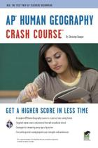 Ap(r) Human Geography Crash Course Book + Online