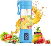 Draagbare Smoothie Blender - Portable Blender - Blauw - Smoothie - Fruit