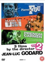 Jean-Luc Godard Collection 3 films by the director volume 2 (Pierrot Le Fou / Made In USA / Prenom Carmen)