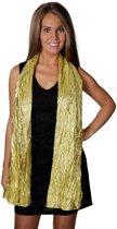 Bling bling sjaal goud