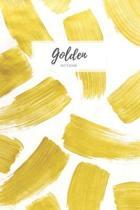 Golden Notebook: Lined Notebook Journal