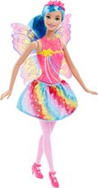 Barbie Dreamtopia Fee Regenboog - Barbiepop