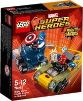 LEGO Super Heroes Mighty Micros Captain America vs. Red Skull - 76065