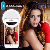 Selfie Ring Light Case Oplaadbaar Lumee Style - Perfecte Selfies in het Donker