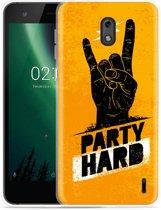 Nokia 2 Hoesje Party Hard 2.0