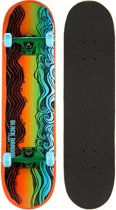 Black Dragon Skateboard - Black Dragon - Oranje/Groen/Aqua