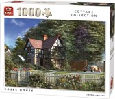 King Cottage Collection Roses House 1000 stukjes