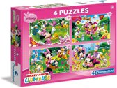 Minnie Mouse 4-in-1 Puzzel - 160 Stukjes