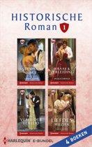 Historische Roman Bundel 1 - Historische roman e-bundel 1