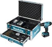 Makita DDF343SYX1 boorschroefmachine - 14,4V - 1,5Ah accu - inclusief 59-delige accessoireset