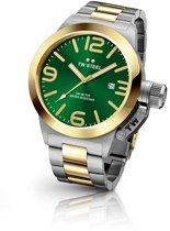 TW Steel CB62 Canteen Bracelet Collection - Horloge -  Staal - 50 mm - Zilverkleurig