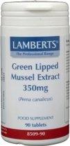 Lamberts Groenlipmossel 300 mg - 90 tabletten