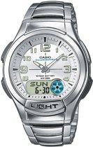 Casio AQ-180WD-7BVES - Horloge - 41 mm - Staal - Zilverkleurig