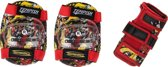 Tempish Beschermset Meex Junior Zwart/rood Maat S 6-delig