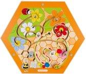 Speelelement bijenkorf honingraat